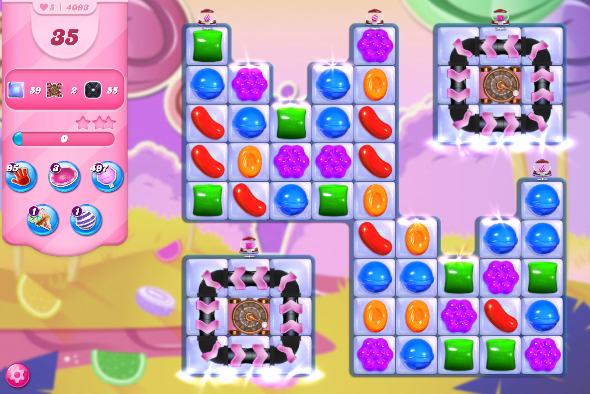 Candy Crush Saga level 4093