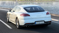 Porsche Panamera with Plug-in Hybrid drive rear