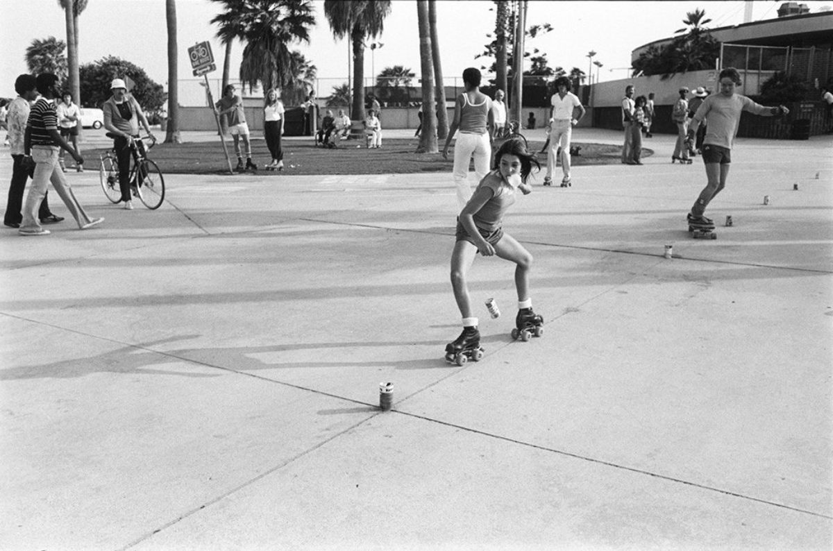 Venice Beach by Bill Aron, LA, 1970's