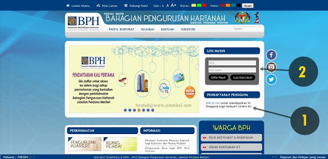 Cara Mudah Buat Tempahan Online Untuk Rumah Peranginan Persekutuan