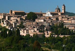 Umberto Eco has a home in Urbino in the Marche region