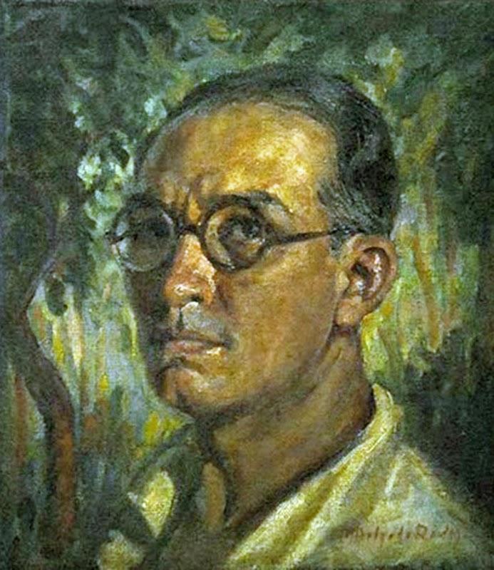Modesto Delgado Rodas, Self Portrait, Portraits of Painters, Modesto Delgado, Fine arts, Painter Modesto Delgado Rodas