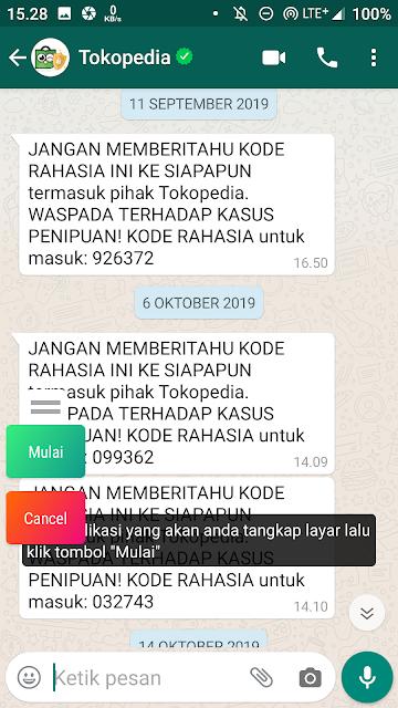Cara Mudah Screenshoot Seluruh Chat Obrolan di Android