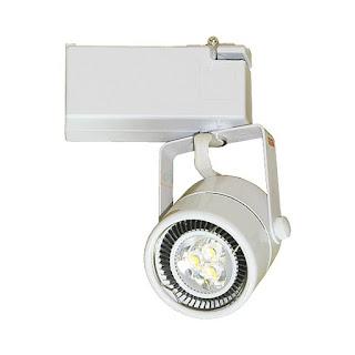 6W MR16 LED軌道投射燈,LED軌道燈(白)
