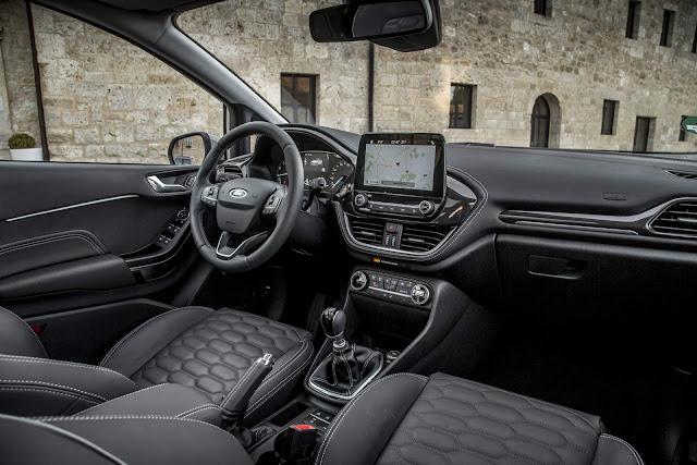 Novo Ford Fiesta 2018 Vignale - interior