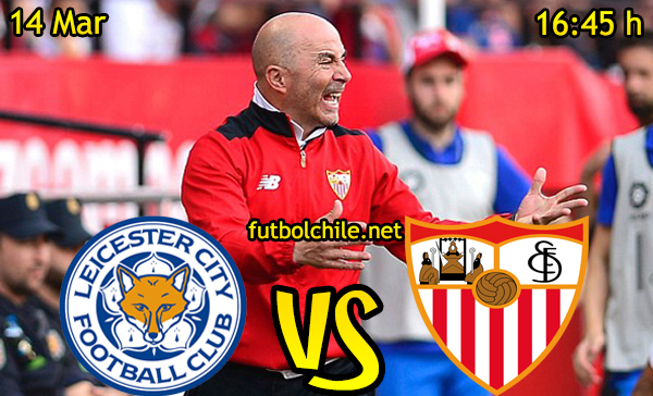Ver stream hd youtube facebook movil android ios iphone table ipad windows mac linux resultado en vivo, online: Leicester City vs Sevilla