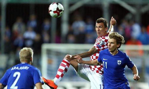 Mario Mandzukic là một tiền vệ đầy tài năng