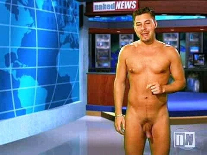 Naked news male video