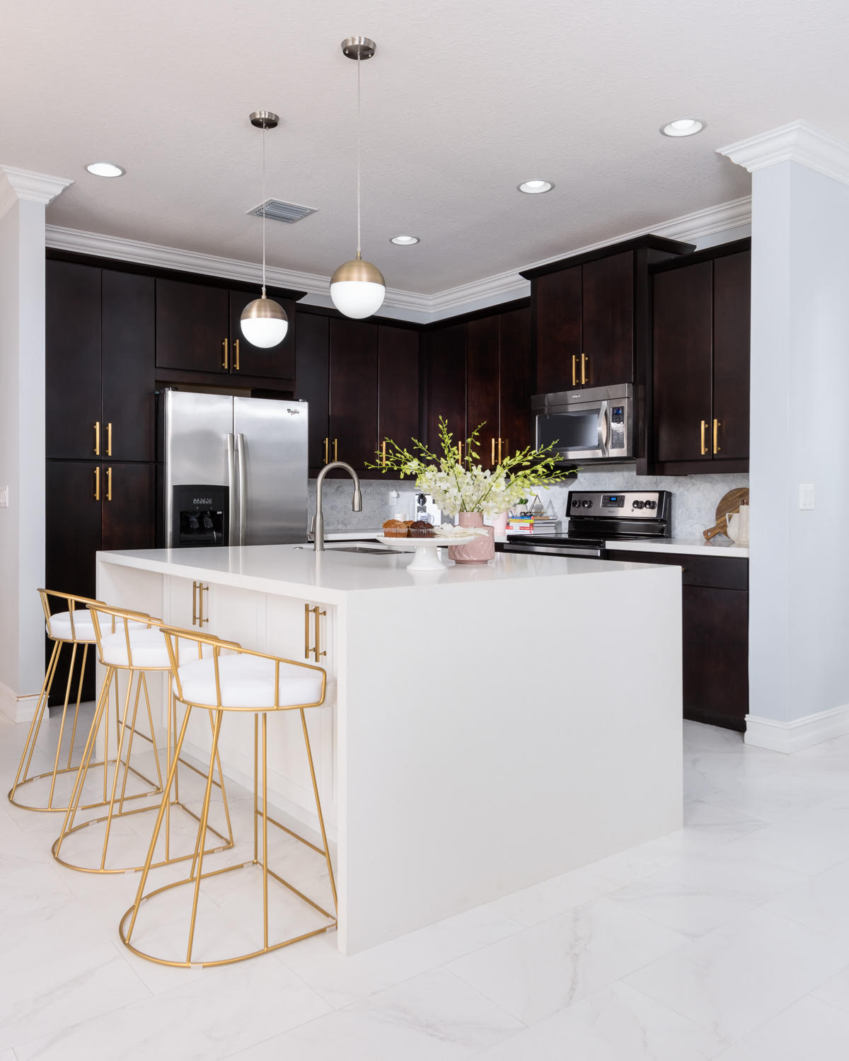 Live Laugh Decorate: How To Create a Stylishly Glam Kitchen - On a on