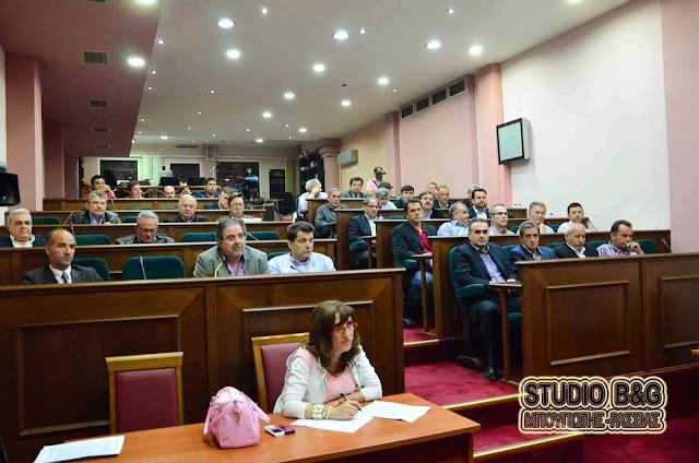Δημοτικό Συμβούλιο στο Άργος στις 14 Σεπτεμβρίου 2016