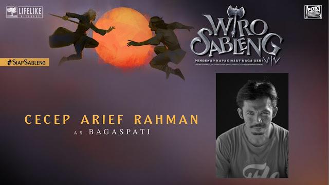 Cecep Arief Rahman sebagai Bajak Laut Bagaspati/ Sumber foto @LifeLikePictrs