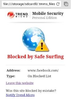 Cara Memblokir Situs Web di Android