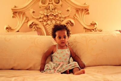 mixed hair, biracial baby, latino family, curly hair