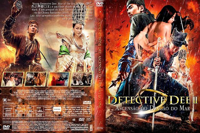 Capa DVD Detective Dee 2 Ascensão Do Dragão Do Mar