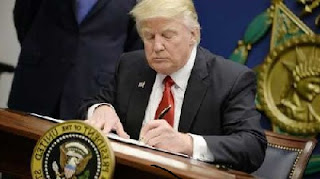 US PRESIDENT DONALD TRUMP UPDATES HIS TRAVEL BAN DIRECTIVE