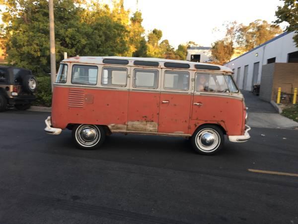 Very Original 1960 Vw Bus 23 Window Vw Bus
