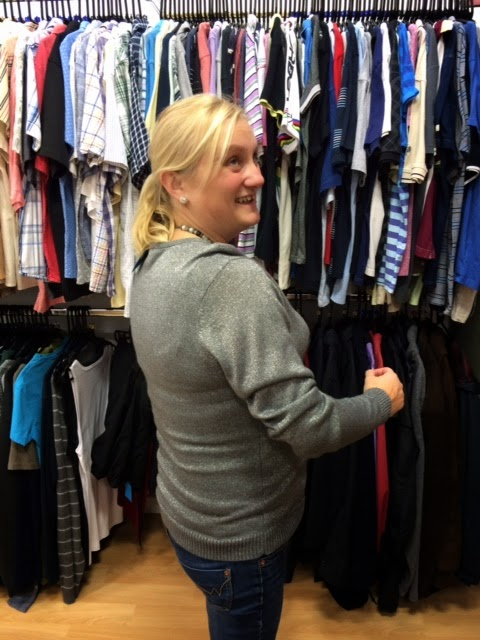 madmumof7 in Salvation Army charity shop