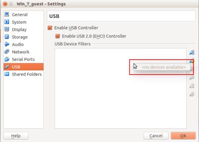 Cara Mengatasi Perangkat USB Tidak Terdeteksi di Virtualbox Ubuntu