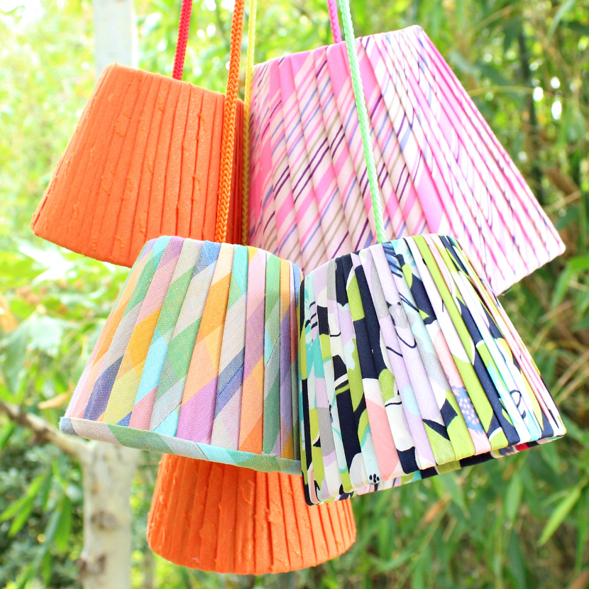 Mark montano pleated lampshades diy pleated lampshades diy aloadofball Image collections