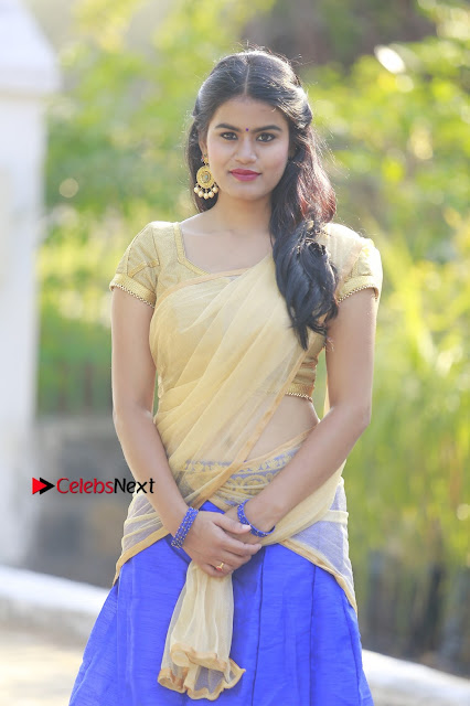 Actress Riyamikka Poshoot Gallery in Saree  0001.JPG