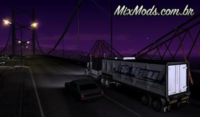mod entregas caminhão