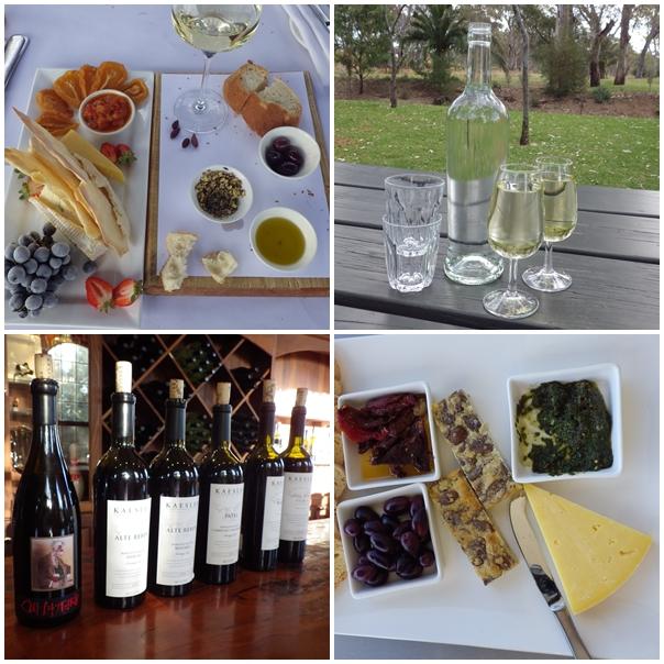 Wein, Kaesler, Essen, Platte, Plater, Brot, Oliven, Antipasti, Pesto, Früchte, Mclaren Vale, Barossa
