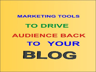 marketing tools to drive audience back