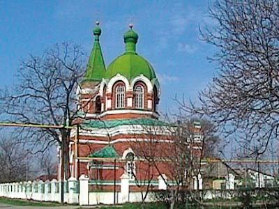 Церковь в Беляевке