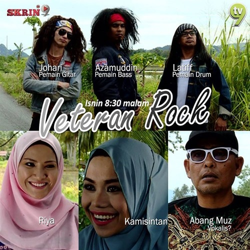 Sinopsis telemovie Veteran Rock TV9, pelakon dan gambar telemovie Veteran Rock TV9