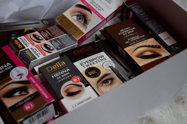 Wielka przesyłka od Delia Cosmetics || Kosmetyki do brwi