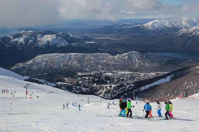 Esquiar na região de Bariloche/ Neuquen