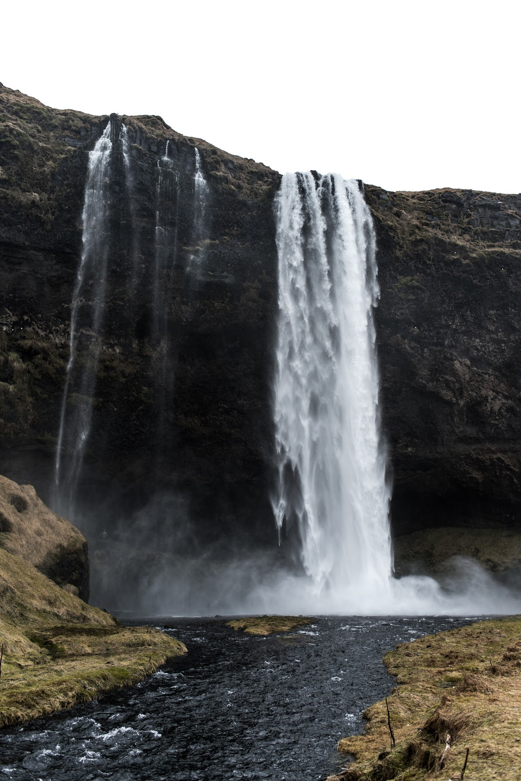 von vogue iceland travel Seljalandsfoss waterfalls