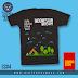 Kaos Pramuka : Cinta Sebatas Patok Tenda CS#4