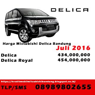 Harga Mitsubishi Delica Bandung Juli 2016, Price List Mitsubishi Delica Bandung 2016