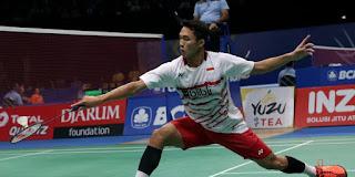 Babak 8 Besar(Perempatfinal) Malaysia Masters 2018