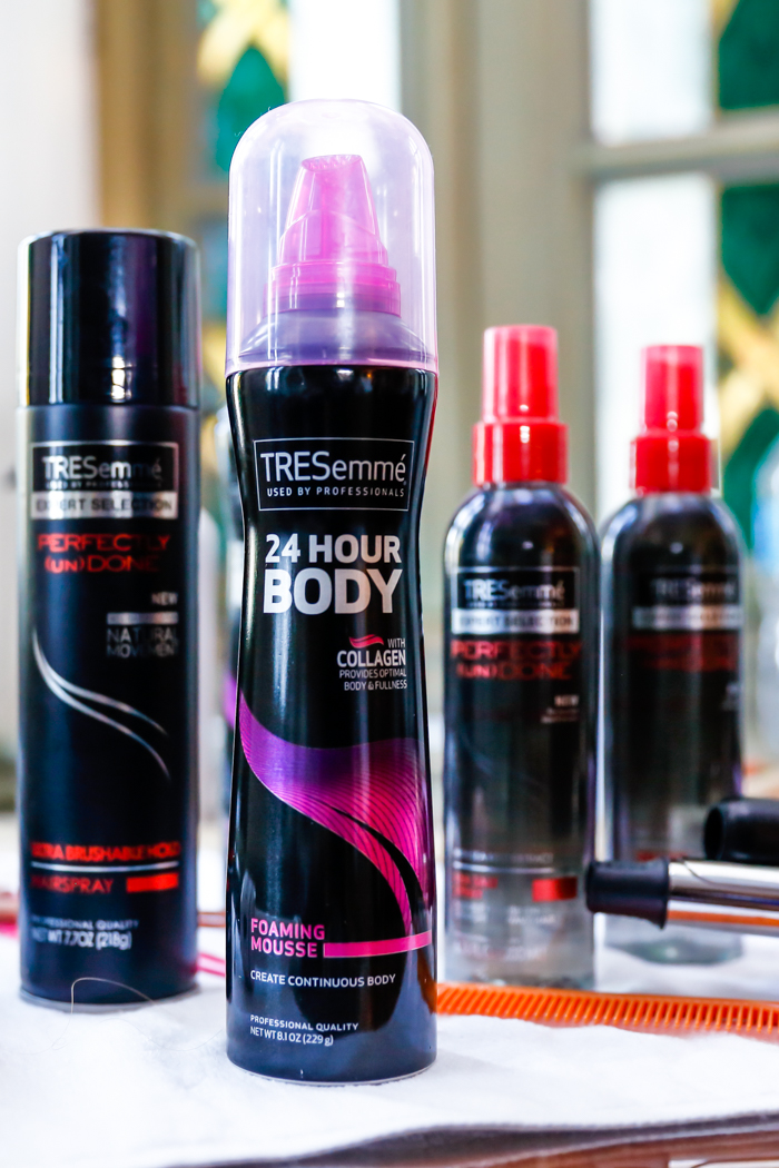 TRESemmé Perfectly (un)Done Ultra Brushable Hold Hairspray