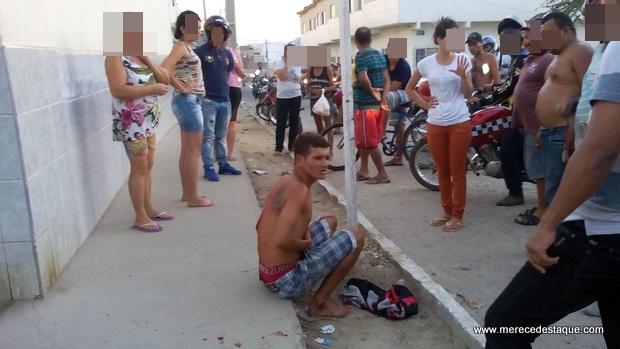 Assaltante é baleado ao tentar roubar moto no Bairro Dona Lica, em Santa Cruz do Capibaribe
