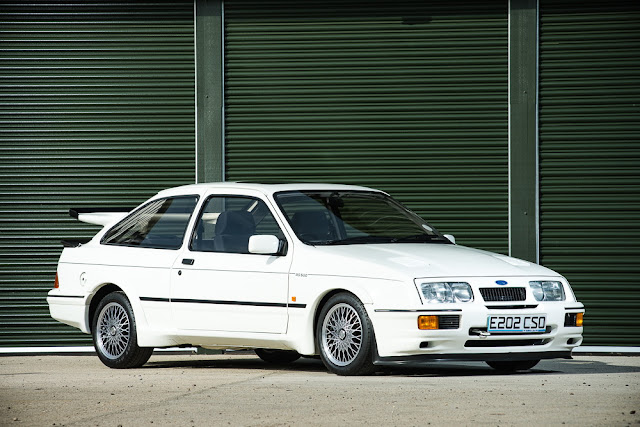 1988 Ford Sierra Cosworth RS500 for sale at Silverstone Auctions for GBP 100,000 - #Ford #Sierra #Cosworth #RS500 #tuning #forsale
