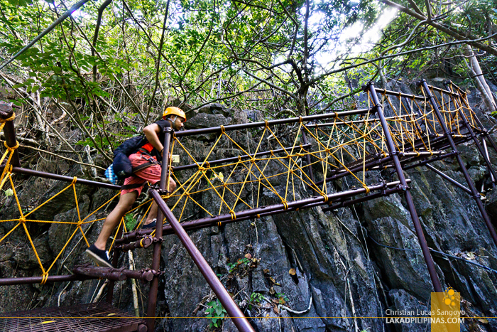 El Nido Canopy Walk Steel Pathways