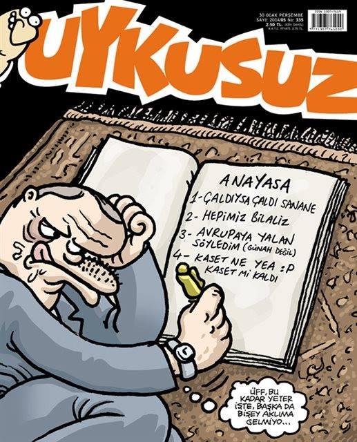 uykusuz erdoğan karikatürü