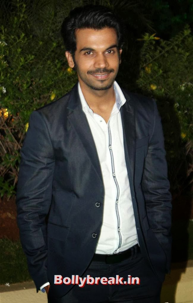 Rajkumar Rao, Bollywood Babes at Vishesh Bhatt Wedding Reception