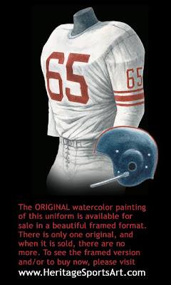 New York Giants 1956 uniform