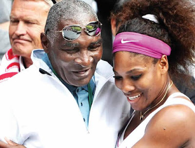 My father backed out of my wedding by text – Serena Williams