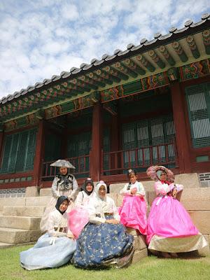 Pakaian Khas Korea Hanbok