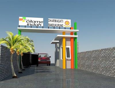 Gerbang Villa Cilame Indah tahap 2