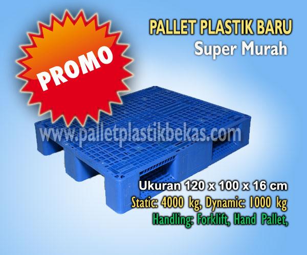 Pallet Plastik Racking Murah, Tatakan Gudang