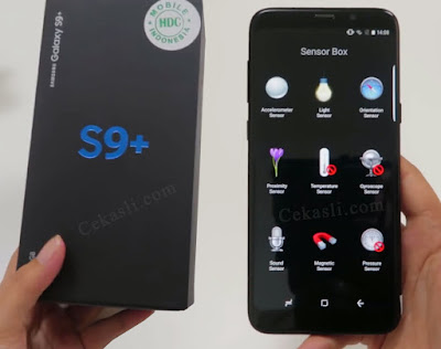 Cara Mengecek Samsung S9, S9+ Asli dan Palsu (HDC)