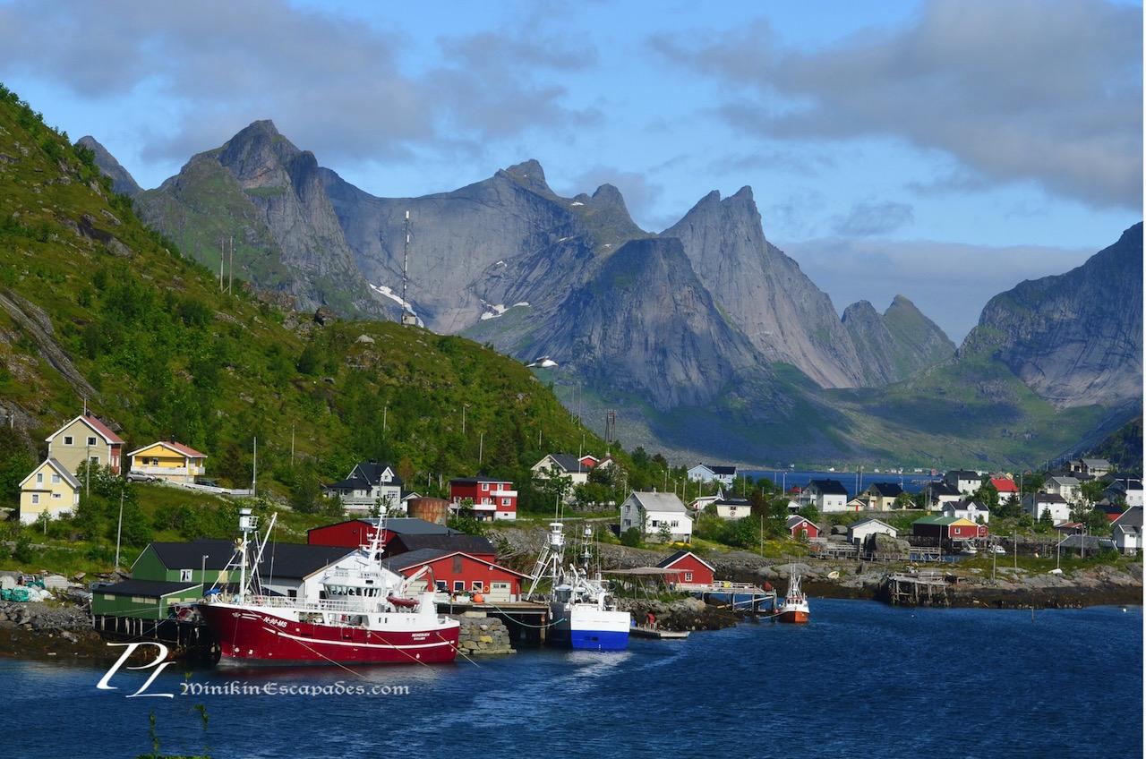Reine, the most picturesque town in Lofoten islands