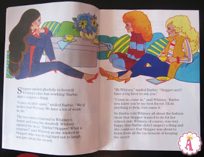 Сказка фирмы Mattel о кукле барби и подруге Уитни - Тайна модного показа