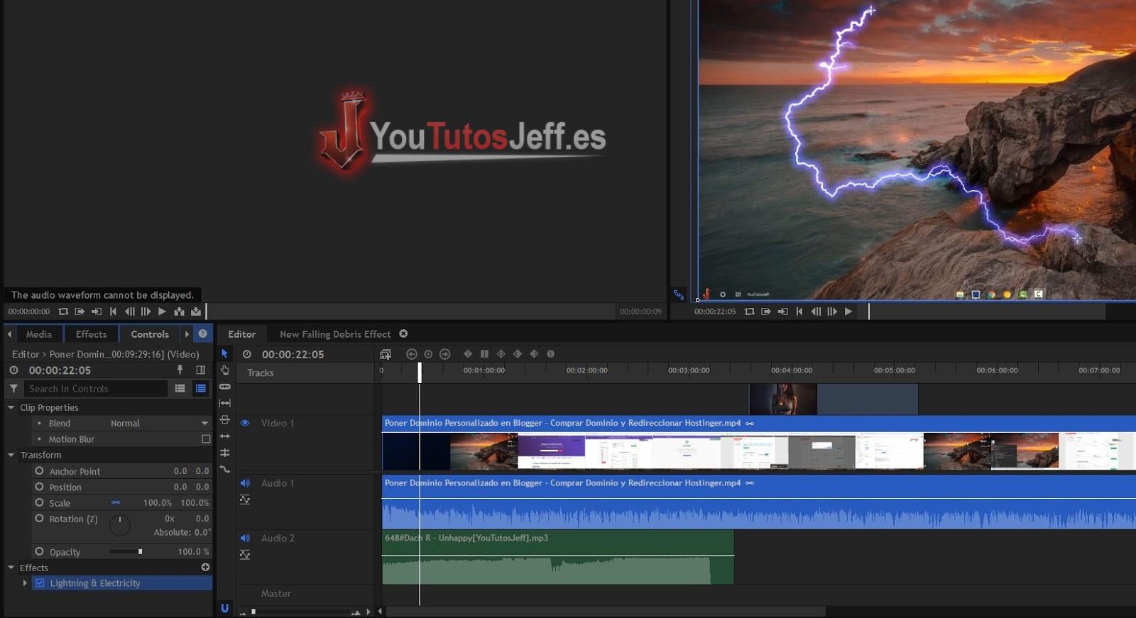 descargar editor de video para windows 10